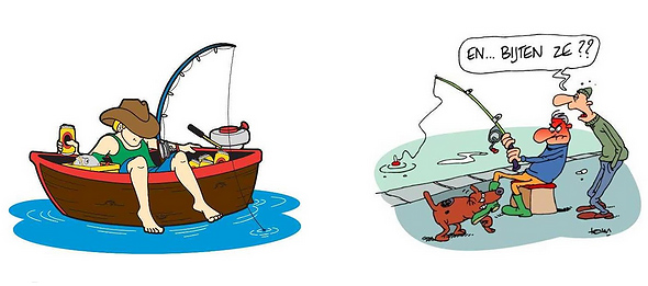 plaatje sportvissen