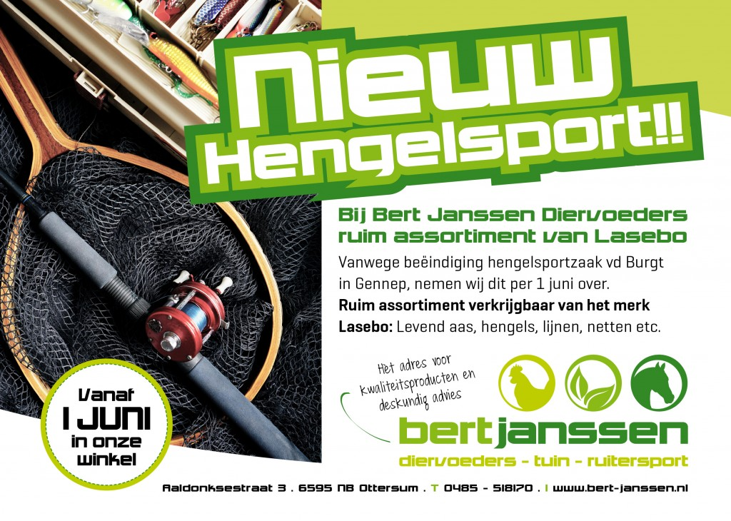 flyer A5 hengelsport